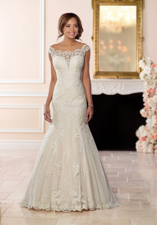 7cd0ede53fd4 Stella York 6569 Wedding Dress | The Knot