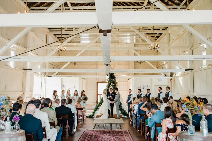 Bohemian Barn Wedding at Stoltzfus Homestead & Gardens in Gordonville, Pennsylvania