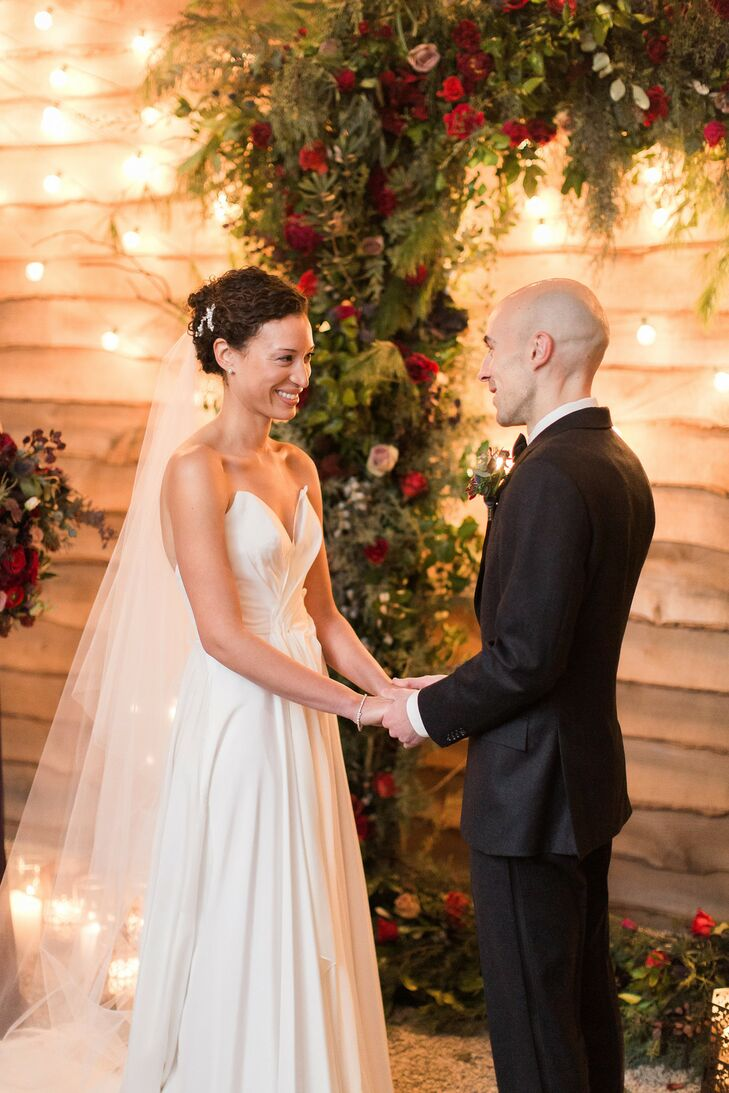 Winter Wedding Ceremony at Terrain at Styers in Glen Mills, Pennsylvania