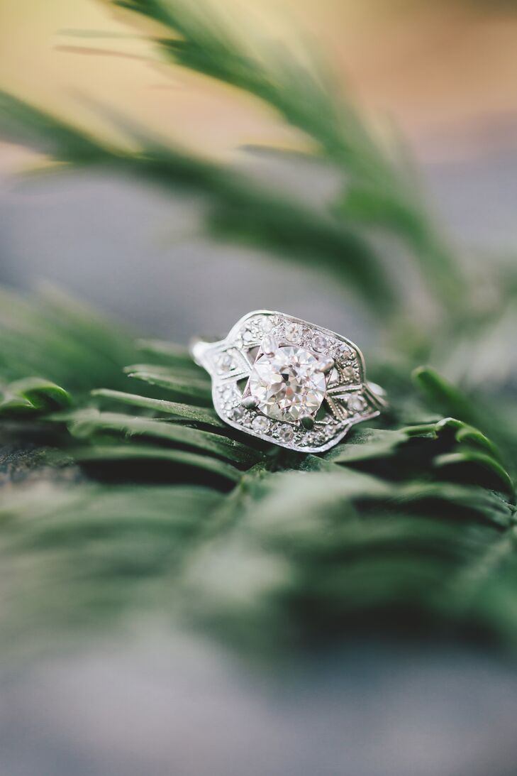"""""""My ring was my grandmother's who gave it to my mother. She gave it to my husband as a complete surprise to me,"""" says Anna. rn"""
