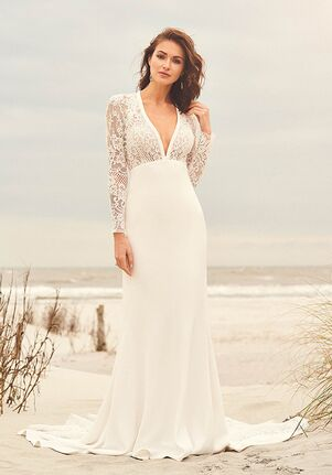Lillian West 66096 Mermaid Wedding Dress