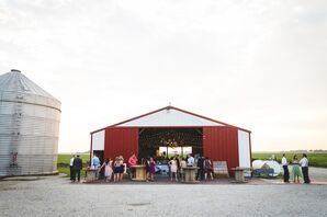 Hudson Farm Barn Reception