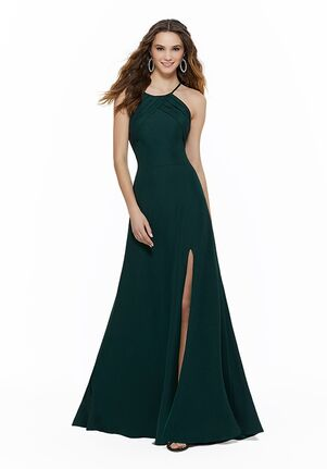 Morilee by Madeline Gardner Bridesmaids 21631 Halter Bridesmaid Dress