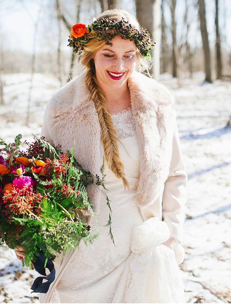 15 Braided Wedding Hairstyles for Long Hair