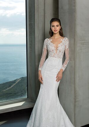 Oreasposa L906 Mermaid Wedding Dress