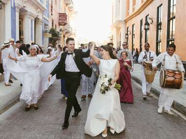 Cartagena, Colombia wedding