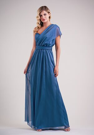 Belsoie Bridesmaids by Jasmine L224006 One Shoulder Bridesmaid Dress
