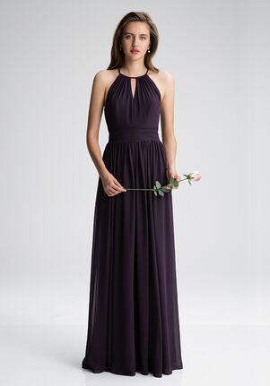 #LEVKOFF 7002 Halter Bridesmaid Dress