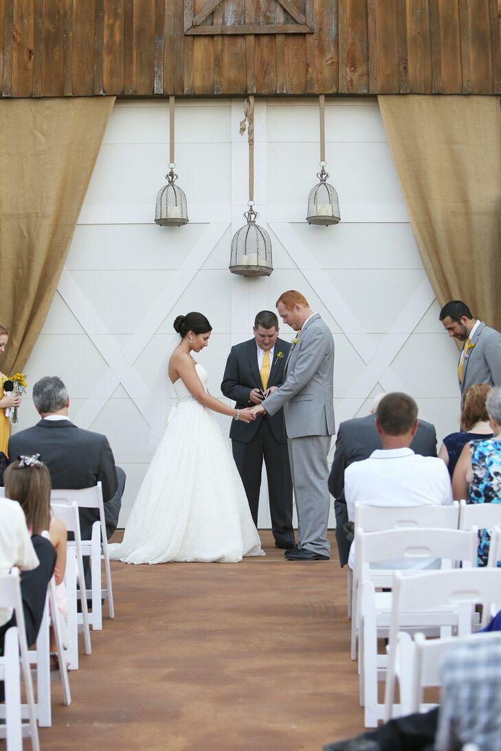 Alyssa and Trevor's Barn Ceremony