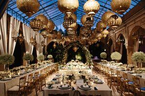 Whimsical Beldi Country Club Riad Reception