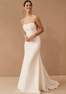 BHLDN Lenox Gown Sheath Wedding Dress