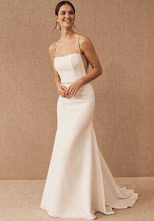 BHLDN Lenox Gown Sheath Wedding Dress