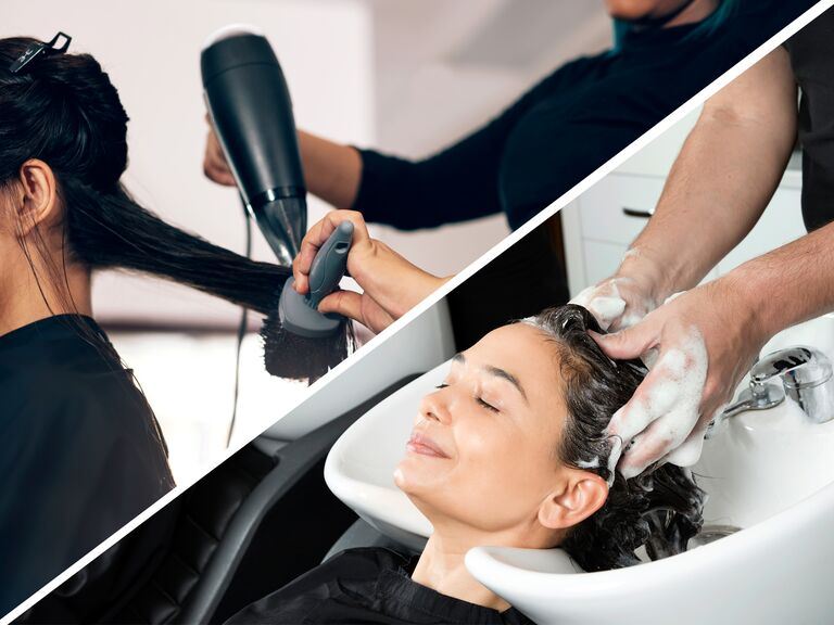 Should You Get Your Wedding Day Hair Done in a Salon or Hotel Room?