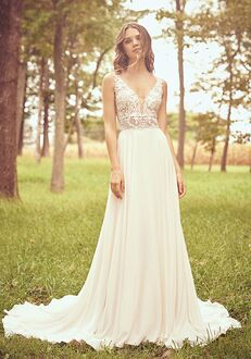Lillian West 66059 A-Line Wedding Dress