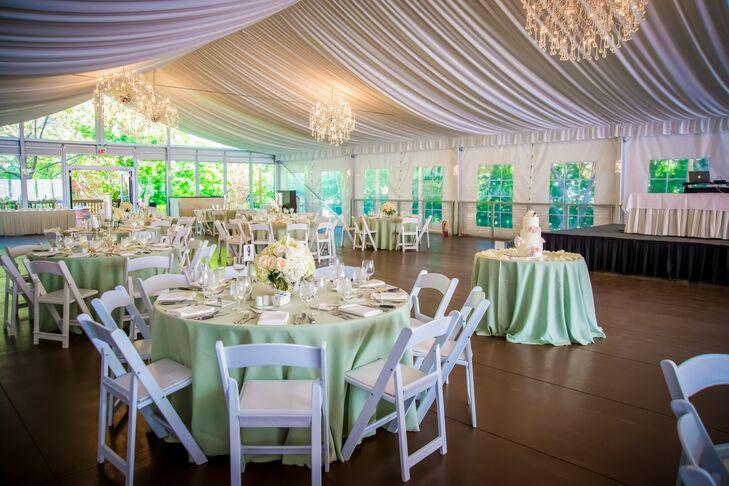 Galleria Marchetti Tented Wedding Reception