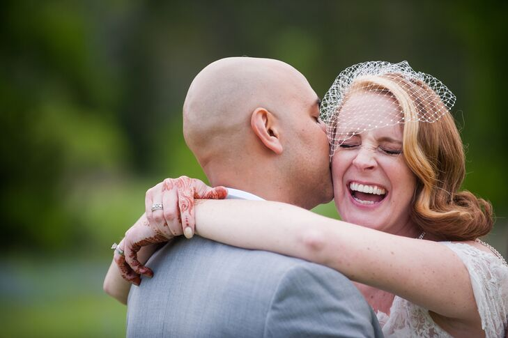 Chaney Jernigan (39 and a director of program management) and Faqir Ahmed's (37 and a principal corporate strategist) fusion wedding was filled with b