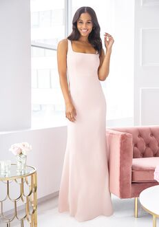 Hayley Paige Occasions 5904 Square Bridesmaid Dress