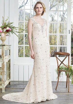 Casablanca Bridal 2258 Violet Sheath Wedding Dress