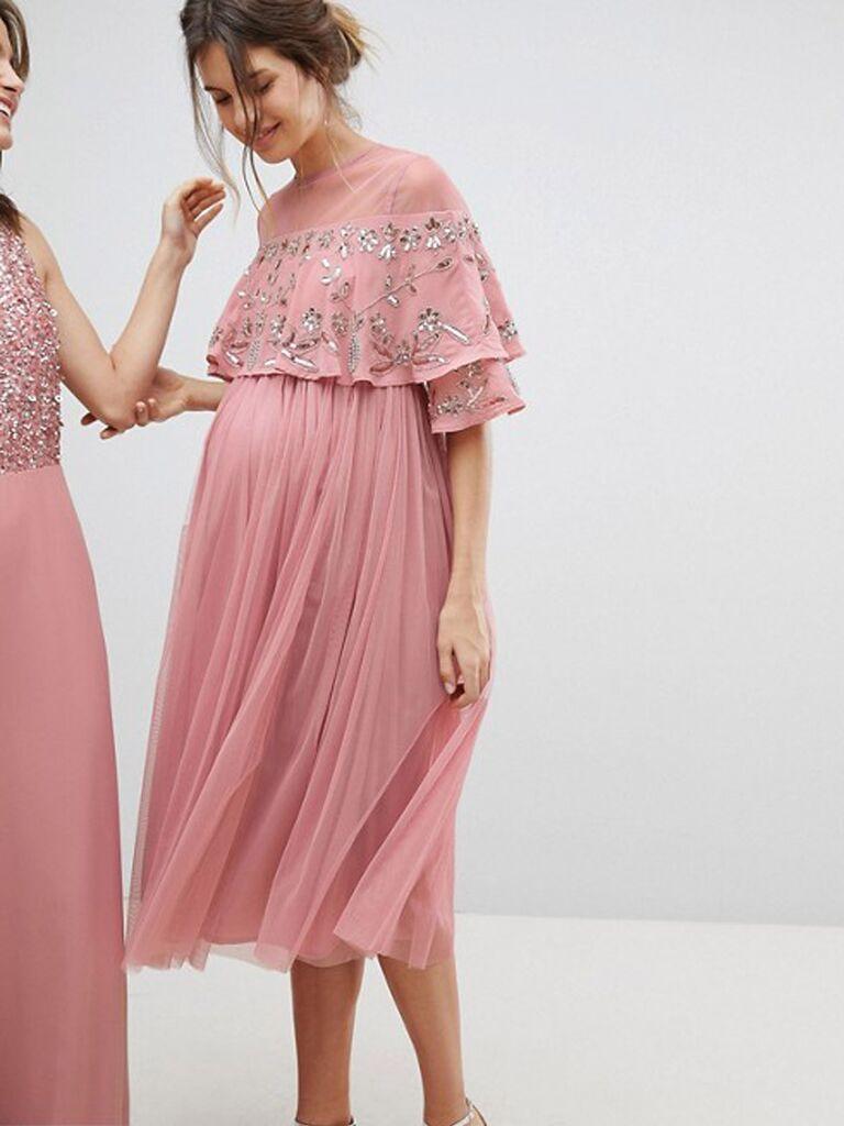 5de2f9f6de9 Maternity Bridesmaid Dresses for Your Pregnant Bridesmaids