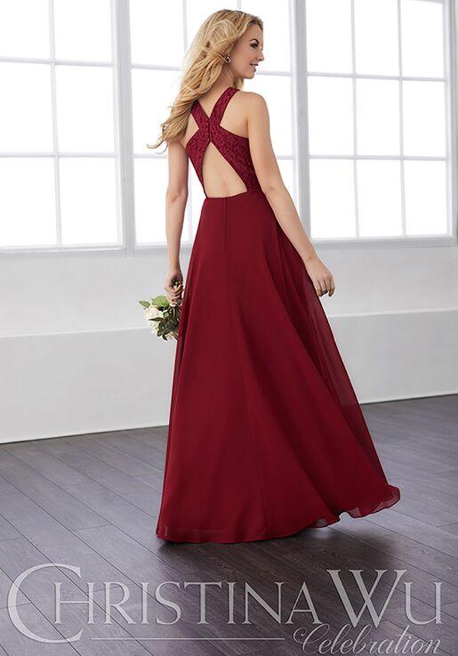 Christina Wu 22820 Halter Bridesmaid Dress