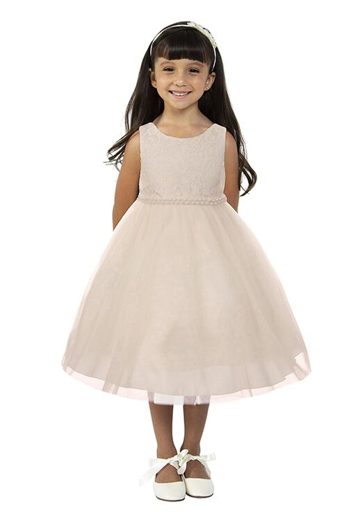 Kid's Dream 456 Ivory Flower Girl Dress