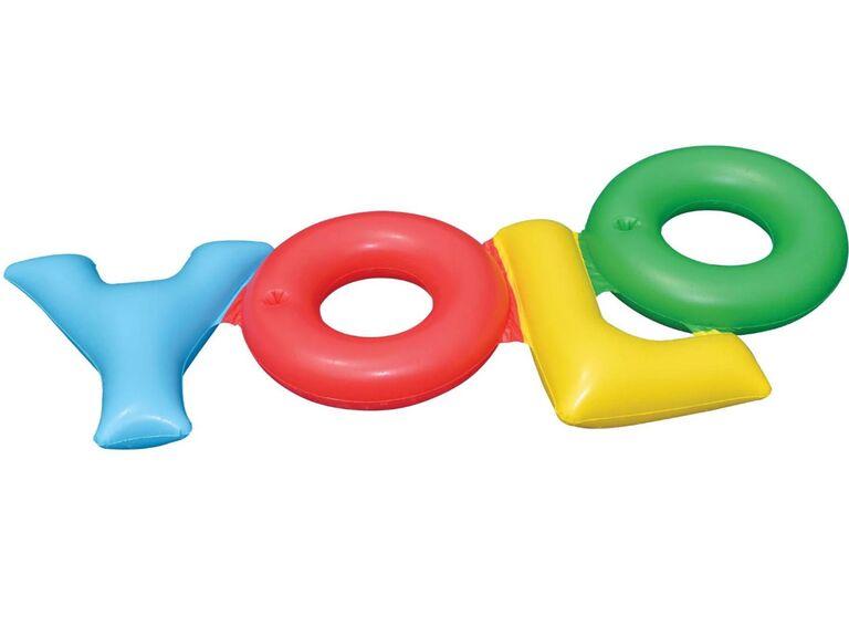 YOLO Pool Float