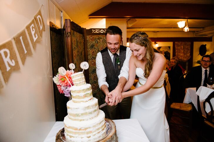 Meredith and Justin's Cake Cutting