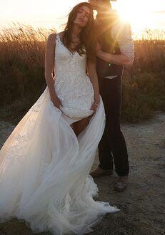 Lillian West 66142 A-Line Wedding Dress