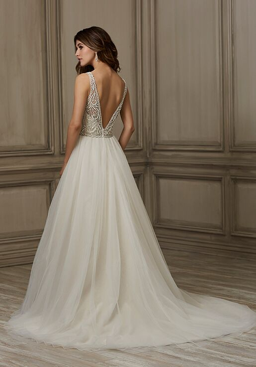 Adrianna Papell Platinum Brooke Wedding Dress The Knot