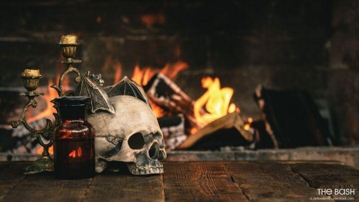 Halloween Zoom Background - Occult