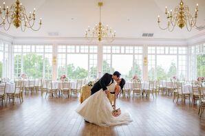 Airy Country Club Wedding Reception