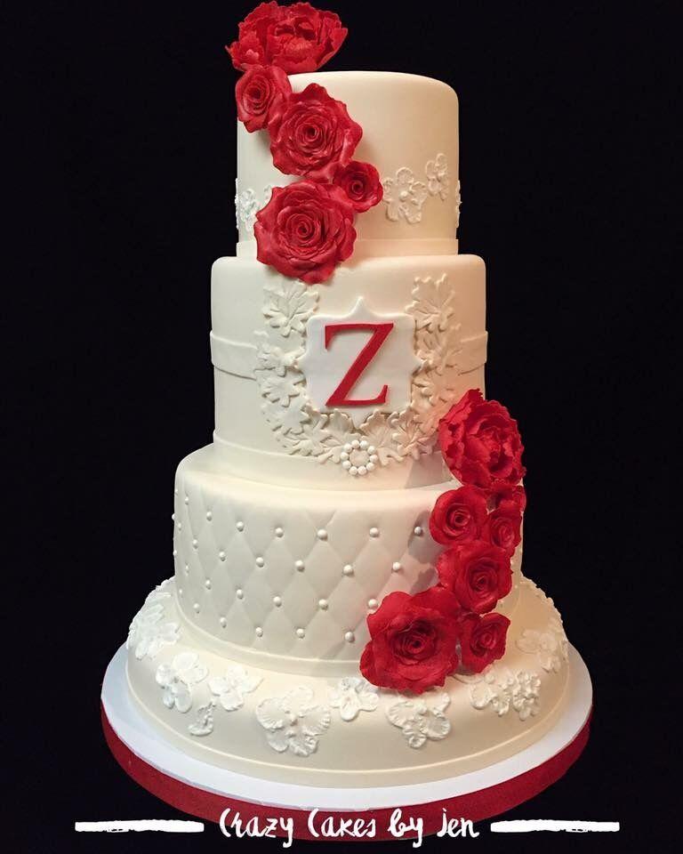 Crazy Cakes By Jen Wedding Cakes San Antonio Tx