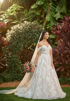 Essense of Australia D3087 A-Line Wedding Dress