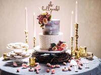 Unique wedding cake topper