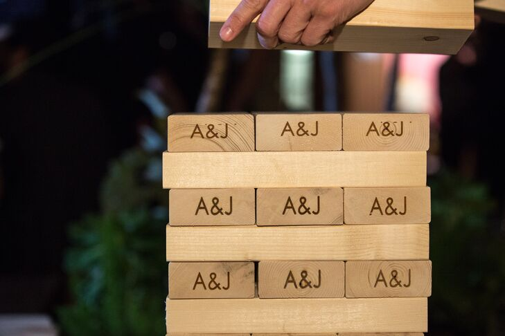 Personalized Jenga Game