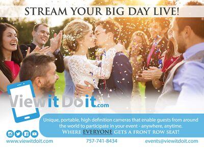 ViewItDoIt - Stream Your Big Day LIVE!
