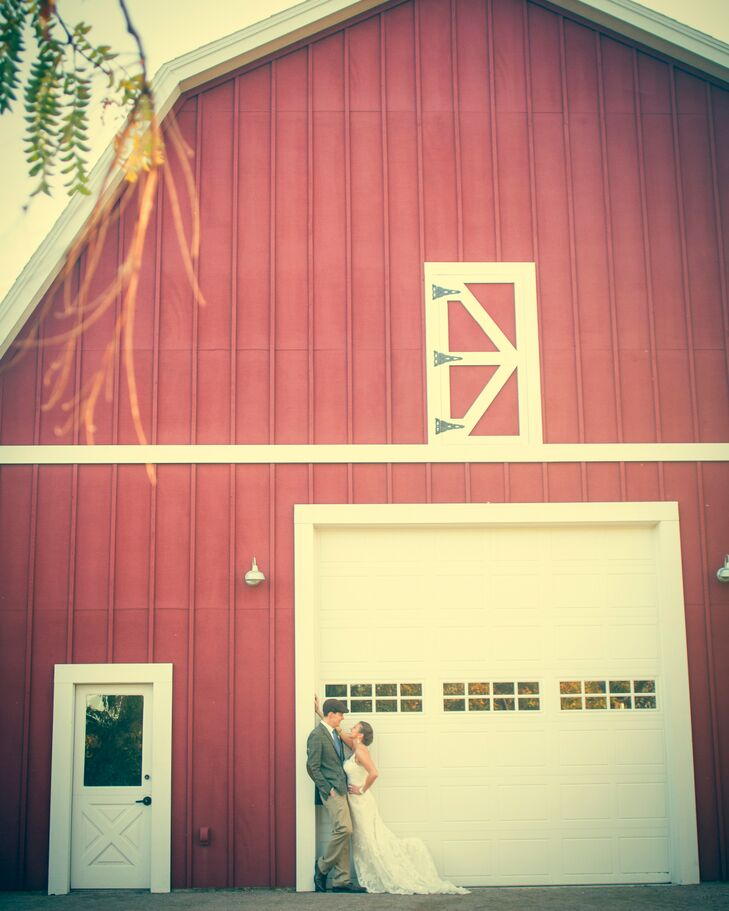 A Rustic Red Barn Venue in Colorado