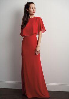 JASMINE P206053 Bateau Bridesmaid Dress