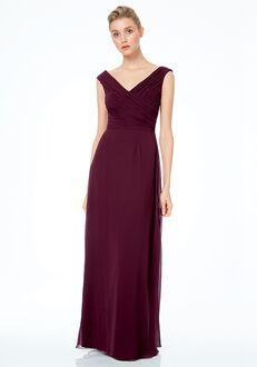 #LEVKOFF 7043 Off the Shoulder Bridesmaid Dress