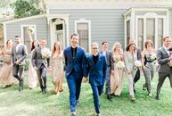 Marcus Kaye and Chris Rallo wed at the Heritage Square Museum because they loved the old-world charm of the buildings—but they also incorporated plent