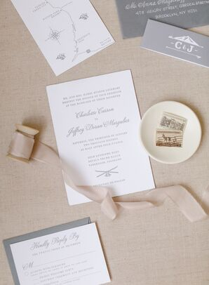 Mountain Chic Custom Stationery