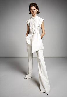 Viktor&Rolf Mariage TUXEDO PANTSUIT Sheath Wedding Dress