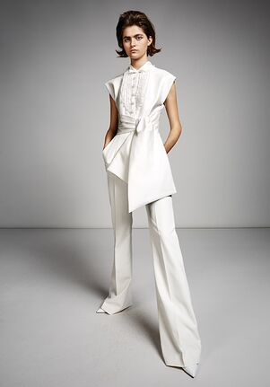 Viktor&Rolf Mariage TUXEDO PANTSUIT Sheath Wedding Dress