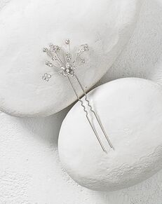 To Have & To Borrow Fleur Silver Headband