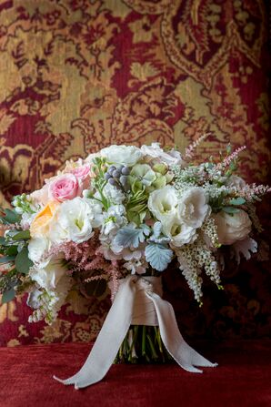Brunia Ball, Lily of the Valley, Rose Bouquet