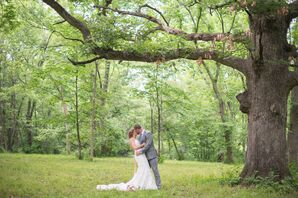 Romantic, Vintage Wedding on Family Farm