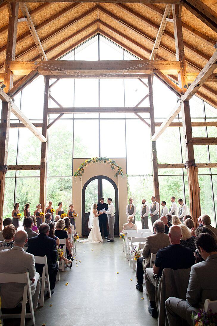 Wedding Ceremony at Barr Mansion in Austin, Texas