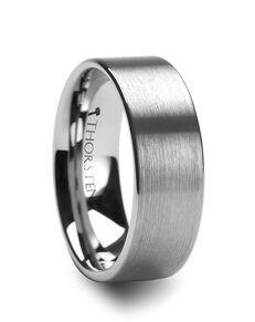 Mens Tungsten Wedding Bands W342-FBF Tungsten Wedding Ring