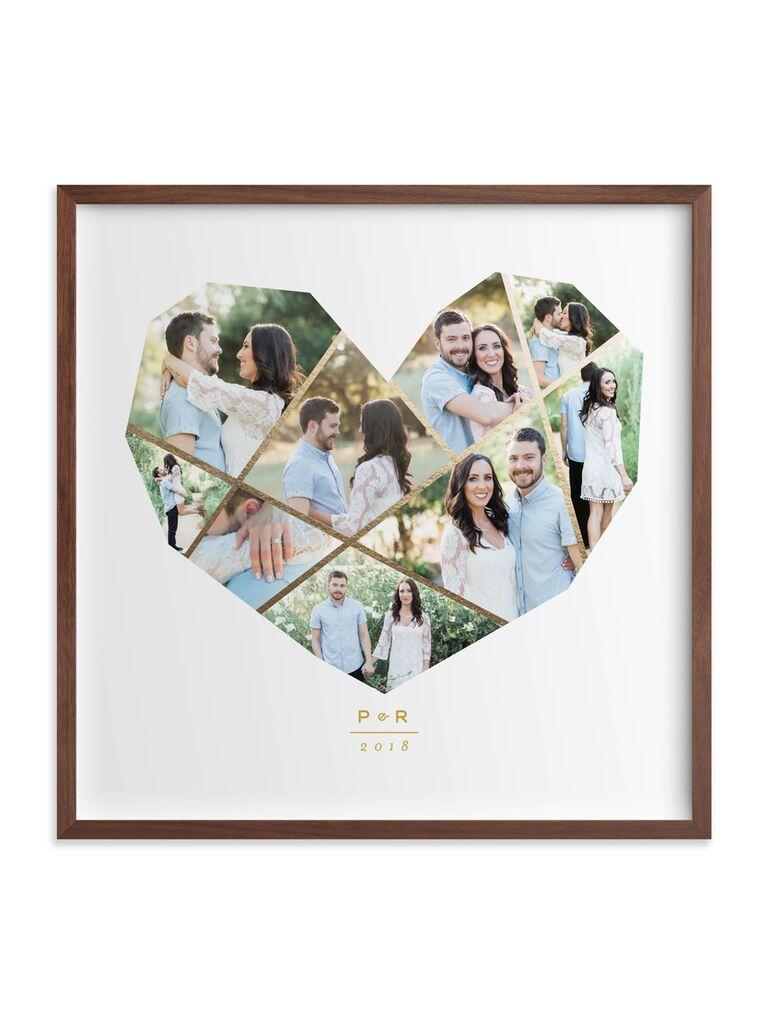 Minted Complete Love custom photo art