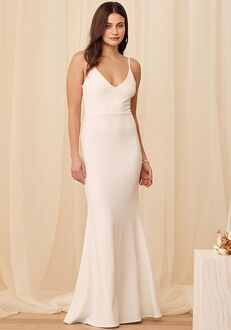 Lulus Infinite Glory White Maxi Dress Mermaid Wedding Dress